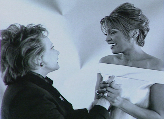 Jeanne Wolf and Whitney Houston
