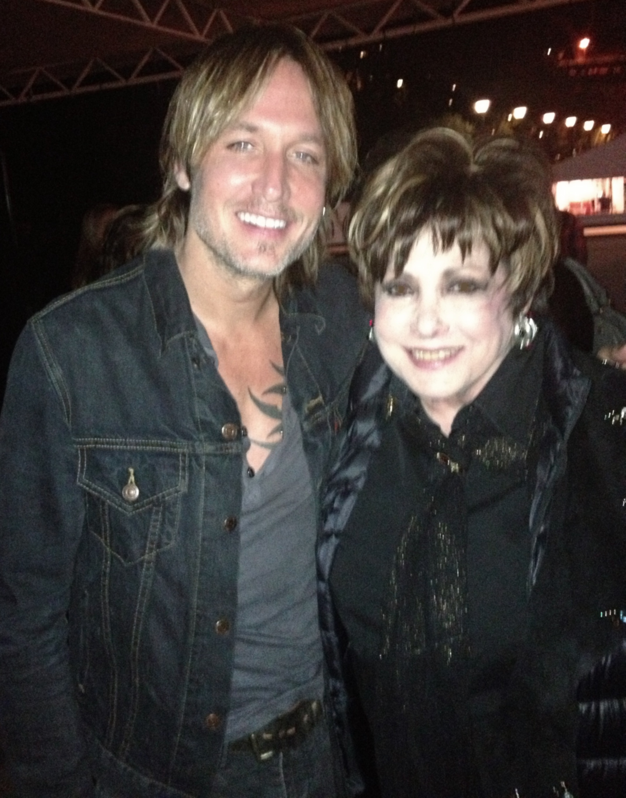 Jeanne and Keith Urban