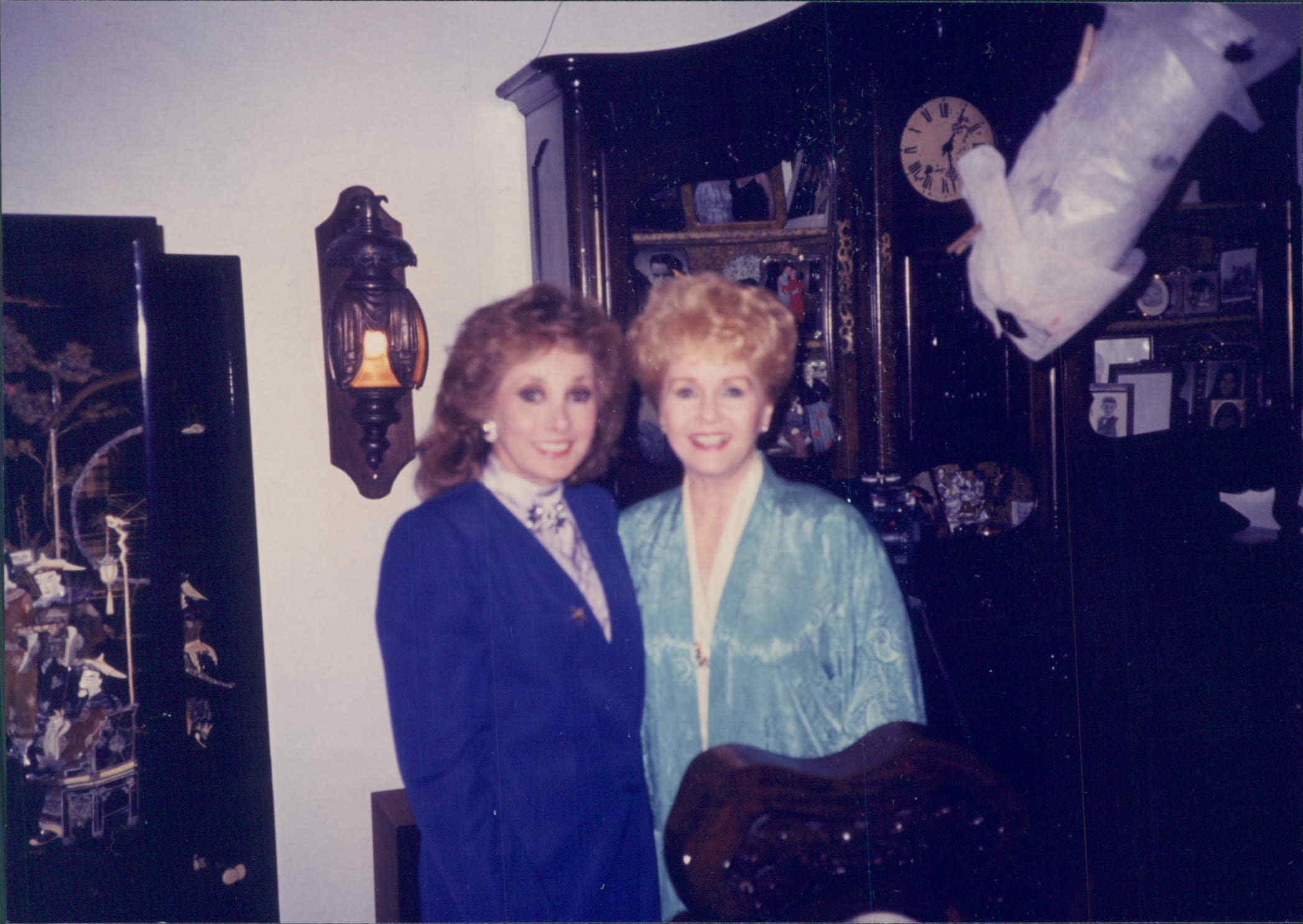 Jeanne with Debbie Reynolds