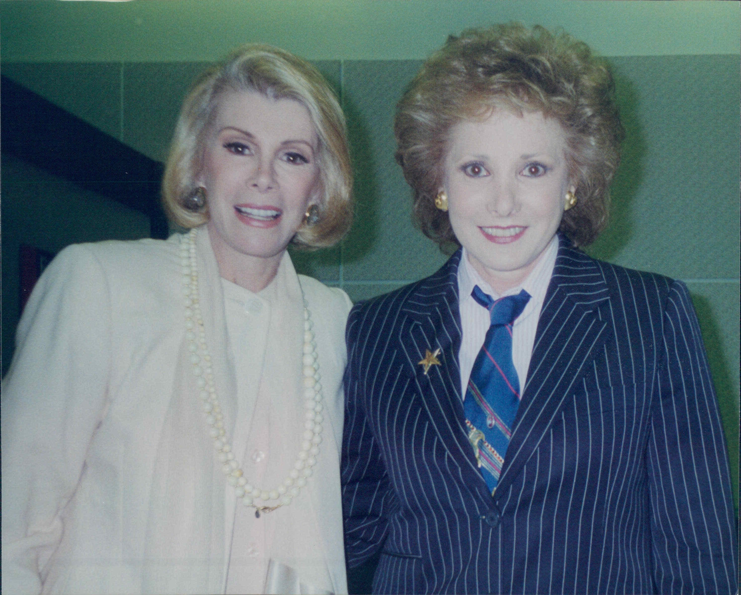 Jeanne with Joan Rivers