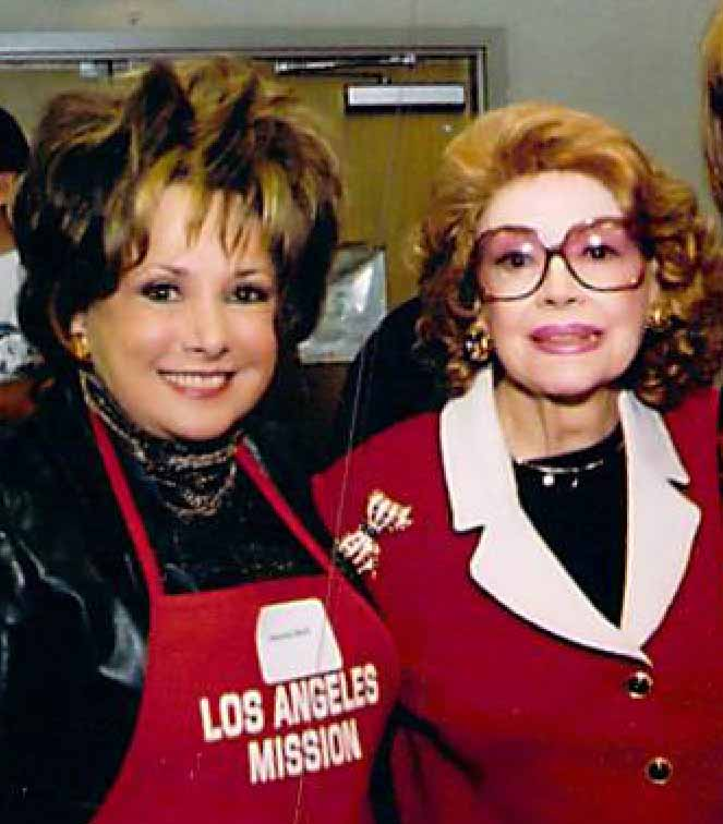 JEANNE WITH JAYNE MEADOWS
