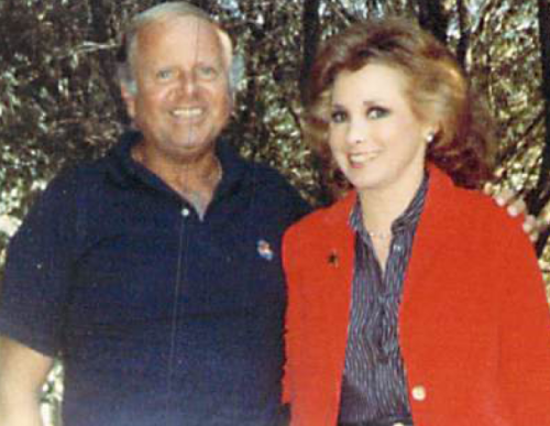 Jeanne with Dick Van Patten