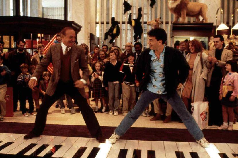 Robert Loggia and Tom Hanks in BIG