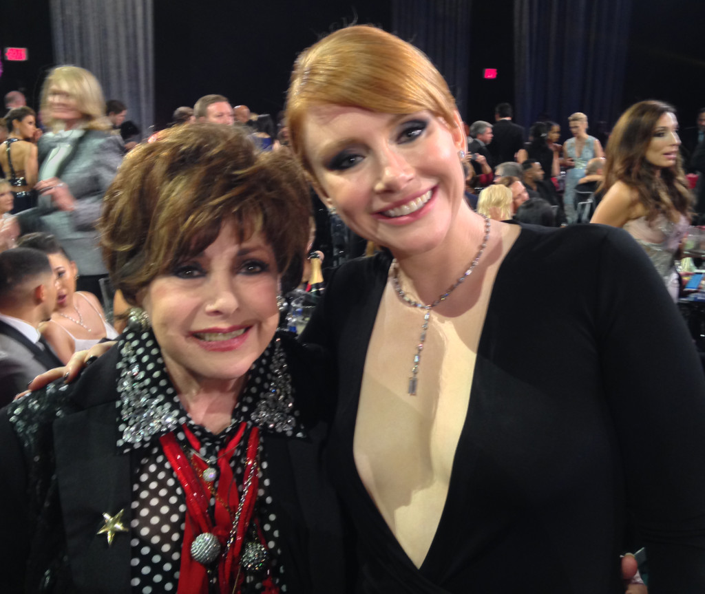 JEANNE WITH BRYCE DALLAS HOWARD