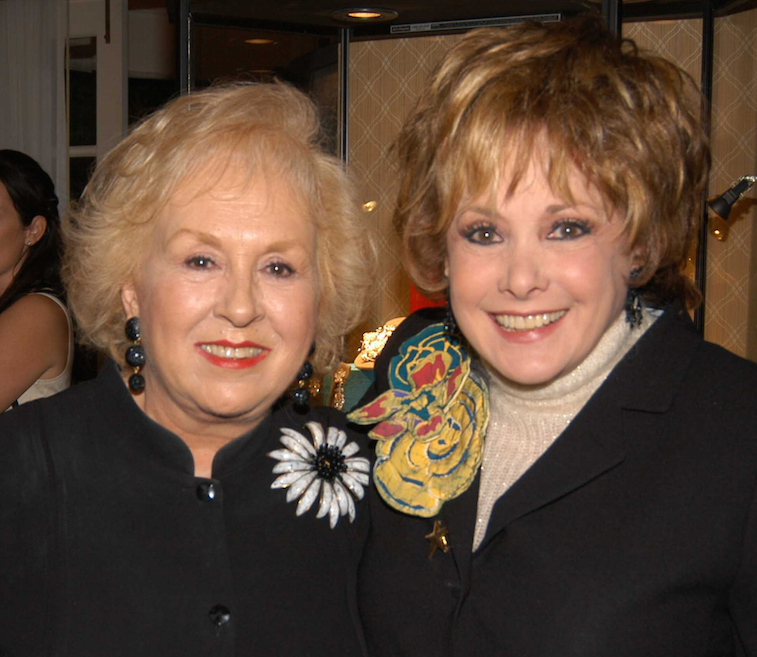 Jeanne Wolf and Doris Roberts