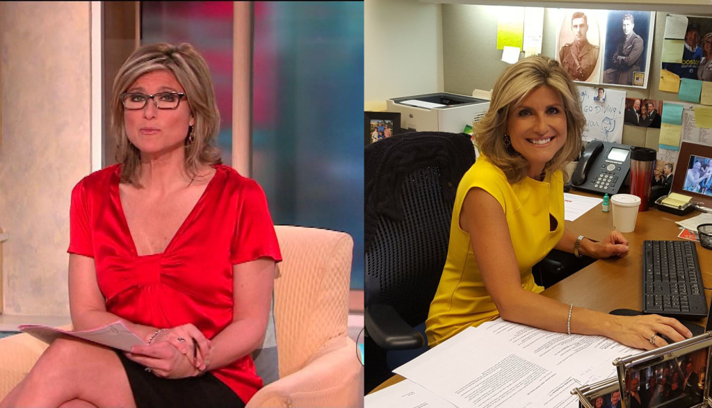 Ashleigh Banfield Glasses vs No Glasses