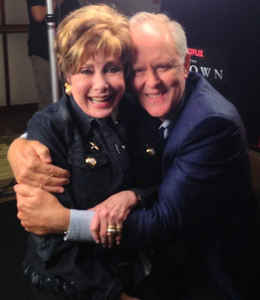 Jeanne with John Lithgow