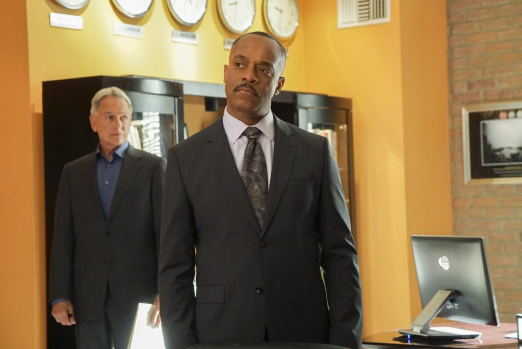 Rocky Carroll and Mark Harmon NCIS